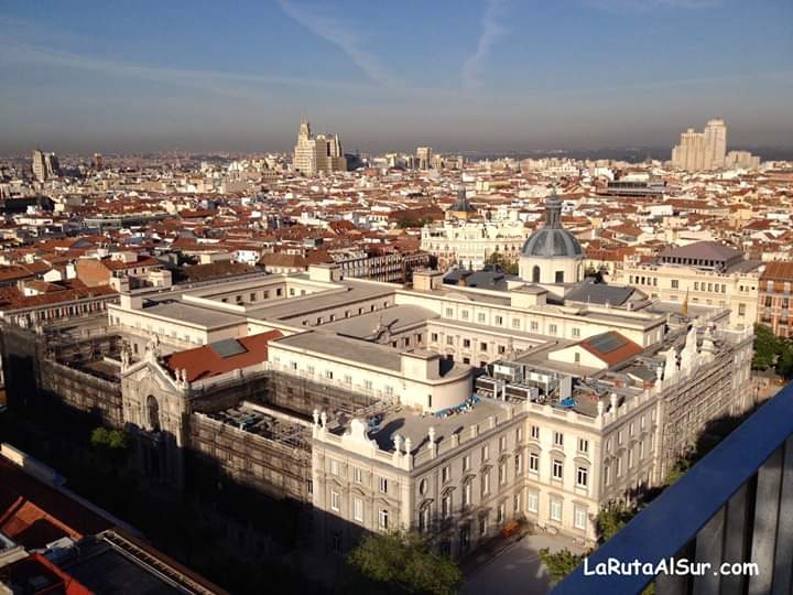 Las vistas de Madrid desde el Club Financiero Génova