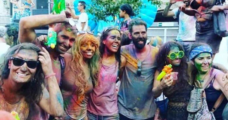 Monsoon Holi, la fiesta de los colores en Madrid